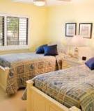 Nguyên tắc decor phòng ngủ cho trẻ sinh đôi