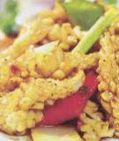 Mực xào cải chua tàu xì