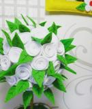 Làm hoa xinh xắn siêu nhanh trang trí cho căn phòng