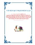 VĂN BẢN QUY PHẠM PHÁP LUẬTSố: 19/2012/TT-NHNN THÔNG TƯSửa đổi, bổ sung một số điều của Thông tư số 30/2011/TTNHNN ngày 28 tháng 9 năm 2011 quy định lãi suất tối đa đối với tiền gửi bằng đồng Việt Nam của tổ chức, cá nhân tại tổ chức tín dụng,