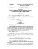 Số: 92/2010/NĐ-CPHà Nội NGHỊ ĐỊNH Quy định chi tiết thi hành Luật Phòng, chống bệnh truyền nhiễm