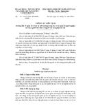 số: 35 /2010/TTLT-BL§TBXHBTNMT THÔNG TƯ LIÊN TỊCH Hướng dẫn về quản lý và bảo vệ môi trường