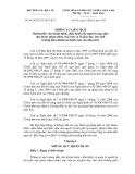 Số: 04/2010/TTLT-BCA-BYT THÔNG TƯ LIÊN TỊCH Hướng dẫn việc khám bệnh, chữa bệnh cho người bị tạm giữ