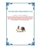 VĂN BẢN QUY PHẠM PHÁP LUẬTSố: 46/2012/TT-BNNPTNT