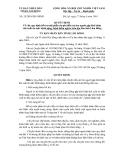 Số: 28/2010/QĐ-UBND QUYẾT ĐỊNH Về việc quy định hỗ trợ một phần chi phí điều trị cho người gặp khó khăn đột xuất do mắc bệnh nặng