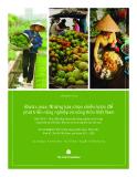 Được mùa: Những lựa chọn chiến lược để phát triển nông nghiệp và nông thôn Việt Nam