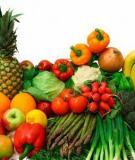 Tác động của thực phẩm hữu cơ với sức khỏe trẻ em