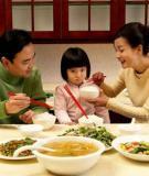 Nguyên nhân và biện pháp khi bé ăn chậm