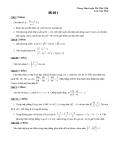 Luyện thi môn toán