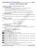 Các chuyên đề Hình học 12 – Chương trình Nâng cao