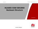 HUAWEI GSM DBS3900 Hardware Structure