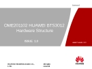 HUAWEI BTS3012 Hardware Structure
