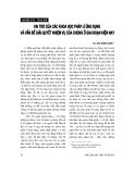 """Báo cáo """" Vai trò của các khoa học pháp lý ứng dụng và vấn đề giải quyết nhiệm vụ của chúng ở giai đoạn hiện nay """""""