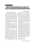 """Báo cáo """"Nghiên cứu so sánh về mối quan hệ giữa thoả ước lao động tập thể và pháp luật lao động quốc gia ở Việt Nam và một số nước trên thế giới """""""