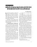 """Báo cáo """" Những bất cập trong quy định của pháp luật sở hữu trí tuệ Việt Nam hiện hành về quyền tác giả, quyền liên quan """""""