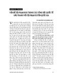 """Báo cáo """"    Vấn đề tội phạm hoá trong các công ước quốc tế đấu tranh với tội phạm xuyên quốc gia """""""