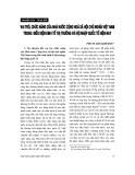 """Báo cáo """"Vai trò, chức năng của Nhà nước Cộng hoà xã hội chủ nghĩa Việt Nam trong điều kiện kinh tế thị trường và hội nhập quốc tế hiện nay """""""
