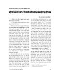 """Báo cáo """" Một số vấn đề pháp lý về người nước ngoài làm việc tại Việt Nam """""""
