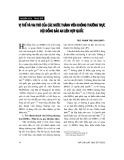 """Báo cáo """" Vị thế và vai trò của các nước thành viên không thường trực Hội đồng bảo an Liên hợp quốc """""""
