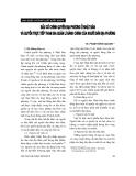 """Báo cáo """" Bầu cử chính quyền địa phương ở Nhật Bản và quyền trực tiếp tham gia quản lí hành chính của người dân địa phương """""""