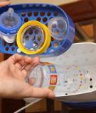 Cách khử trùng các dụng cụ ăn uống cho trẻ