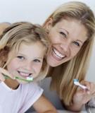 Giúp trẻ có hàm răng sạch và chắc khỏe