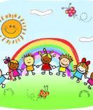 Trẻ em và vai trò quan trọng của môi trường thiên nhiên – Infographic