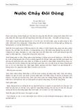 Nước Chảy Đôi DòngngTác giả: Nhất Linh Thể loại: Truyện Ngắn Website: http://motsach.info Date: 27-October-2012Nước xuôi dòng, buồm thuận gió. Hai bên bờ sông hai dãy đồi dài, sương buổi chiều đã lờ mờ phủ chân đồi; trên ng