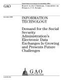 administration s electronic data exchanges is information technology