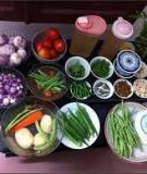 10 mẹo đi chợ và nấu ăn cơ bản