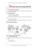 Chương 3  Tính toán nhóm trục khuỷu bánh đà