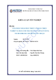 Luận văn:Giải pháp nhằm phát triển & hoàn thiện nghiệp vụ bảo lãnh thanh toán tại Techcombank - chi nhánh Tân Thuận