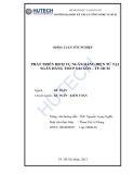 Luận văn:Phất triển dịch vụ ngân hàng điện tử tại ngân hàng TMCP Sài Gòn -TP.HCM