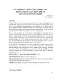 ĐẶC ĐIỂM CÁC RỐI LOẠN VẬN ĐỘNG DO THUỐC CHỐNG LOẠN THẦN Ở BỆNH NHÂN TÂM THẦN PHÂN LIỆT