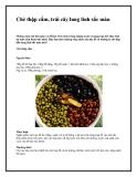 Chè thập cẩm, trái cây lung linh sắc màu