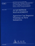 acquisition management agencies can improve training on new initiatives