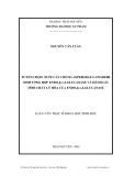 luận văn:TUYỂN CHỌN, NUÔI CẤY CHỦNG ASPERGILLUS AWAMORI SINH TỔNG HỢP ENDO-β-1,4-GLUCANASE VÀ ĐÁNH GIÁ TÍNH CHẤT LÝ HÓA CỦA ENDO-β-1,4-GLUCANASE