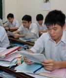 Trường THPT Huỳnh Lưu Lân  đề thi thử đại học văn khối D