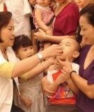 Báo động tình trạng thiếu vi chất ở bà mẹ và trẻ em