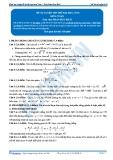 Đề tự luyện thi thử đại học số 04 môn toán