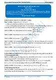 Đề tự luyện thi thử đại học số 13 môn toán