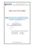 Luận văn: Phân tích thực trạng và giải pháp xuất khẩu đồ gỗ sang Hoa Kỳ của công ty TNHH một thành viên Trúc Vi