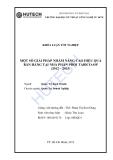 Luận văn:Một số giải pháp nâng cao hiệu quả bán hàng tại công ty Tabico-op từ 2012-1015
