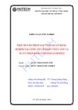 Luận  văn:Định hướng pháp triển kinh doanh xuất khẩu tại công ty thuỷ sản và xuất nhập khẩu Côn Đảo (COIMEX)