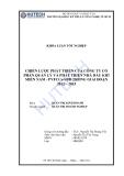 Luận văn: Chiến lược phát triển của công ty cổ phần quản lý và phát triển nhà dầu khí miền Nam-PVFCCo-SBD trong giai đoạn 2012-2015