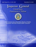 department of defense dod controls over information