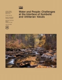 water and people challenges at the interface of symbolic and utilitarian values