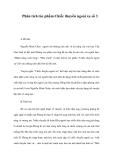 Tổng hợp các bài văn phân tích tác phẩm Chiếc thuyền ngoài xa Nguyễn Trung Thành