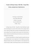 Truyện An Dương Vương và Mị Châu - Trọng Thủy: bài học cảnh giác hay bi kịch tình yêu