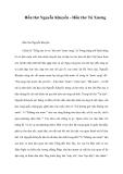 Hồn thơ Nguyễn Khuyến - Hồn thơ Tú Xương